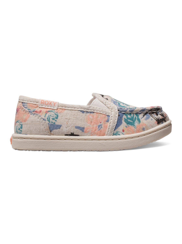 edf90d4463aaef 1 Girls 2-6 Lido Slip-On Shoes ARLS600022 Roxy