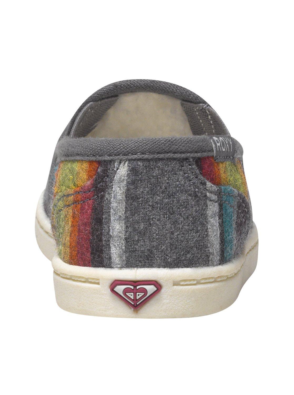 420c47056c8a88 3 Girls 2-6 Lido Wool Slip-On Shoes ARLS600025 Roxy