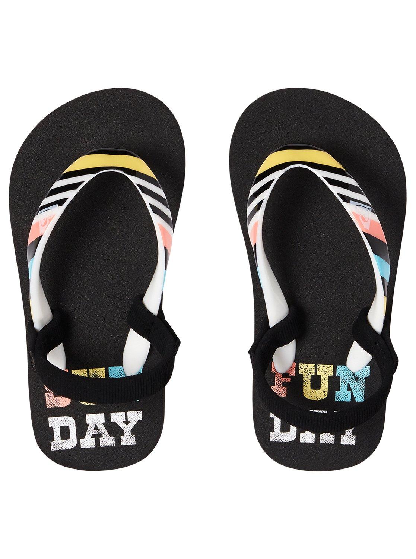 643c8937f568 2 Girl s 2-6 Pebbles Sandals Black AROL100004 Roxy