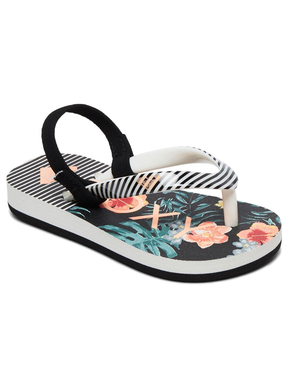 ef853e9db 0 Pebbles VI - Sandals for Toddlers Orange AROL100004 Roxy