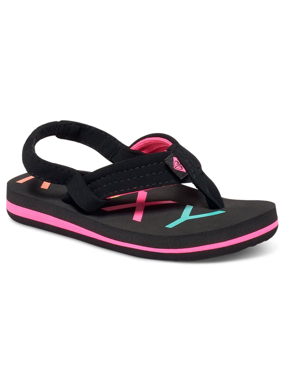 9e94e018e 0 Girl s 2-6 Vista Sandals Black AROL100006 Roxy