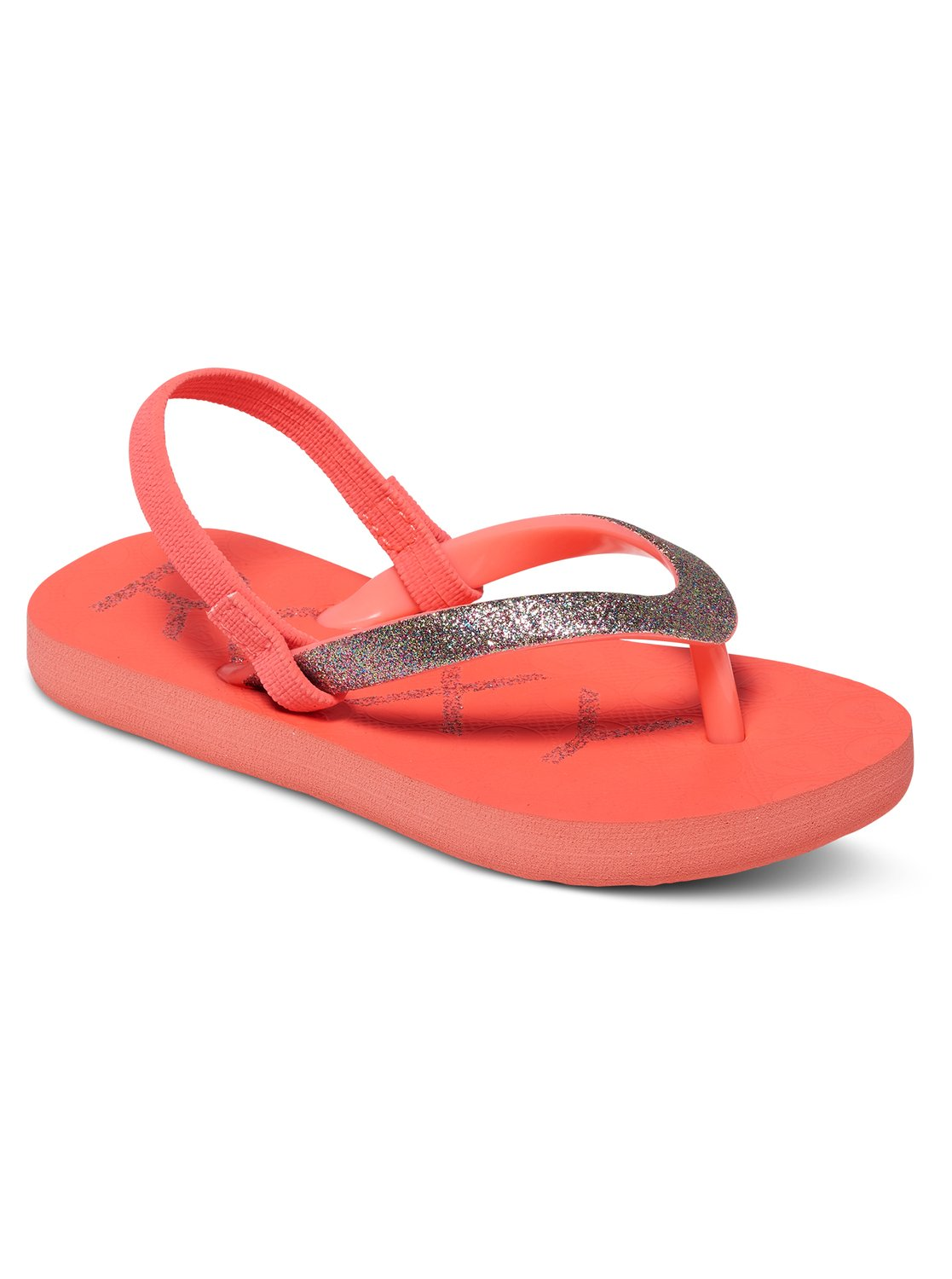 fbb1e7ef722b 0 Viva Glitter - Flip-Flops for Toddlers Red AROL100007 Roxy