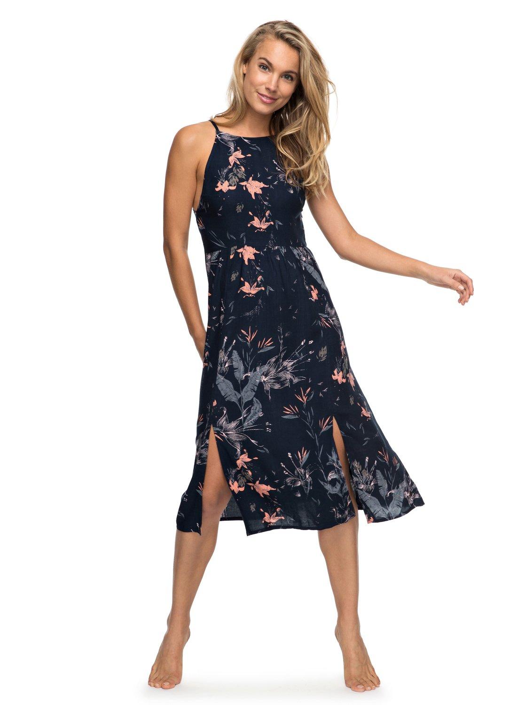 42211e1db 0 Vestido Feminino Longo Estampado Roxy BR73811514 Roxy