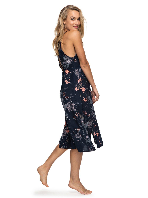 fe62eca70 1 Vestido Feminino Longo Estampado Roxy BR73811514 Roxy