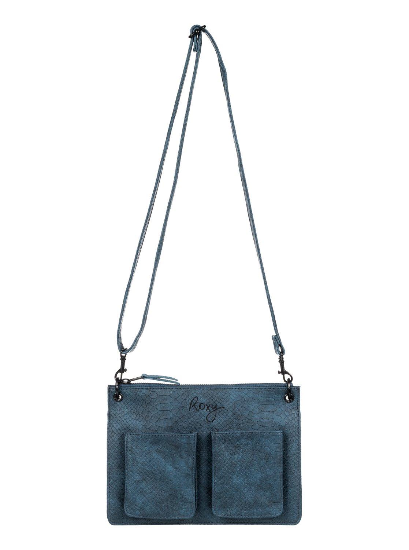 11c883c151 0 Bolsa Feminina de Couro Sintético Roxy Azul BR78281639 Roxy