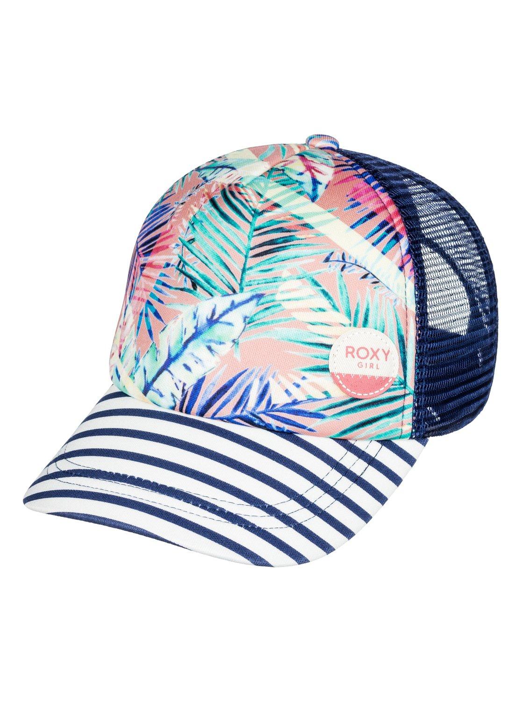 c57d721ecd880 0 Girls 7-14 Just Ok Trucker Hat ERGHA03030 Roxy