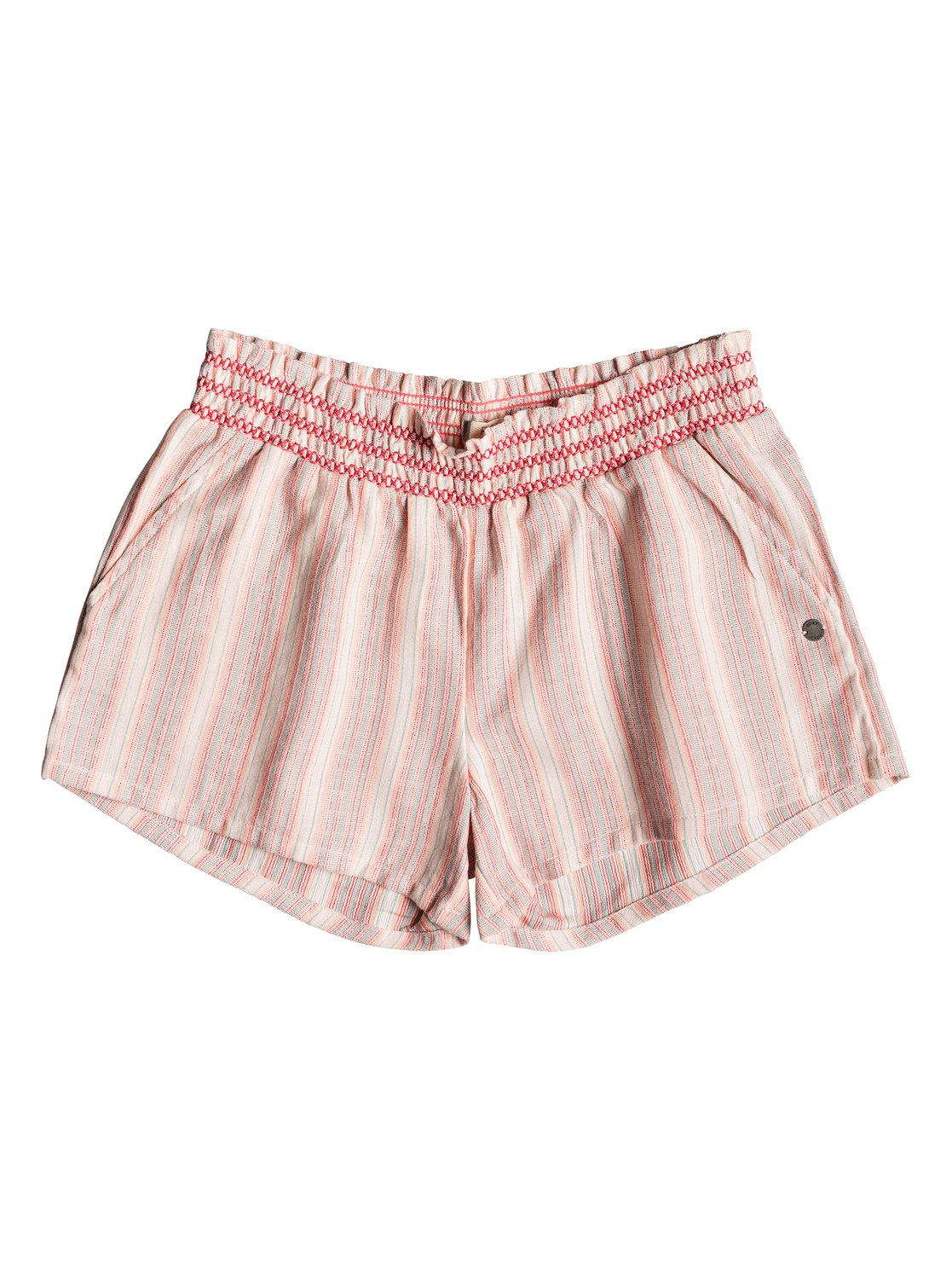 b6c4160b28cb3 0 Girl's 7-14 Dancing In The Sun Beach Shorts Pink ERGNS03036 Roxy