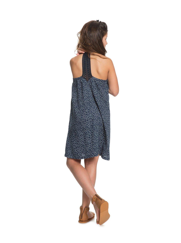 fd63f8aca23 3 Exotic Nature - Robe à bretelles pour Fille 8-16 ans Bleu ERGWD03071 Roxy