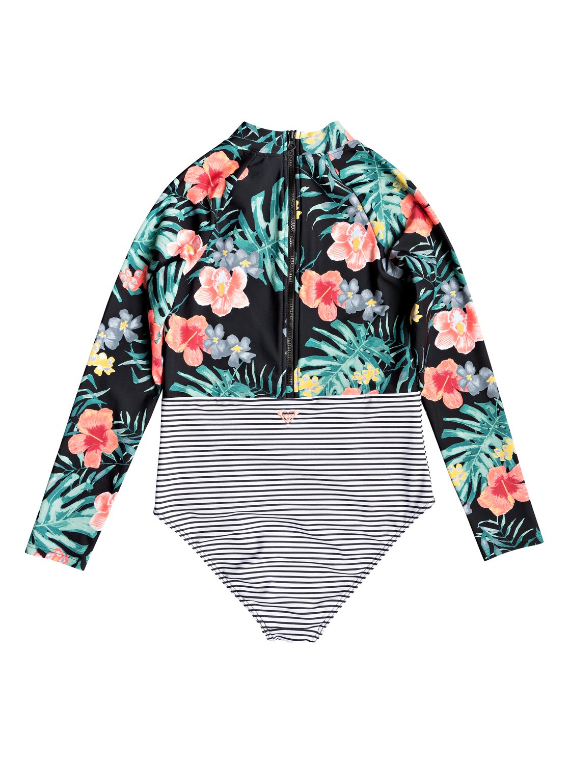 16ff2df255 Happy Spring - Long Sleeve UPF 50 One-Piece Swimsuit for Girls 8-16 ...