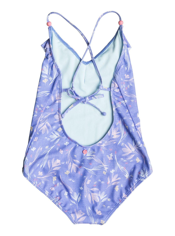b5c8eaeddcc 1 Girl's 7-14 Denim Babe One-Piece Swimsuit ERGX103021 Roxy