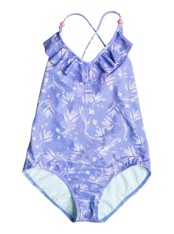 df37d9312d5 0 Girl's 7-14 Denim Babe One-Piece Swimsuit ERGX103021 Roxy