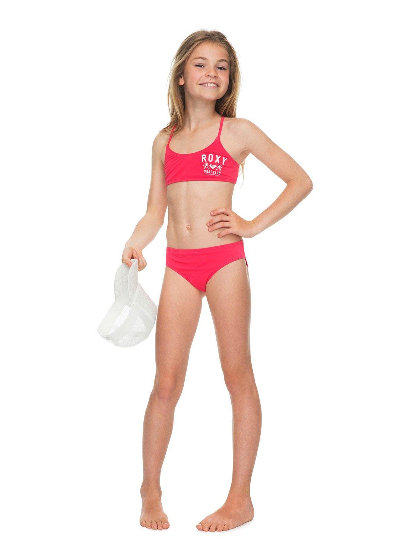 9522fa1803e34 2 Girl's 7-14 Need The Sea Athletic Bikini Set ERGX203114 Roxy