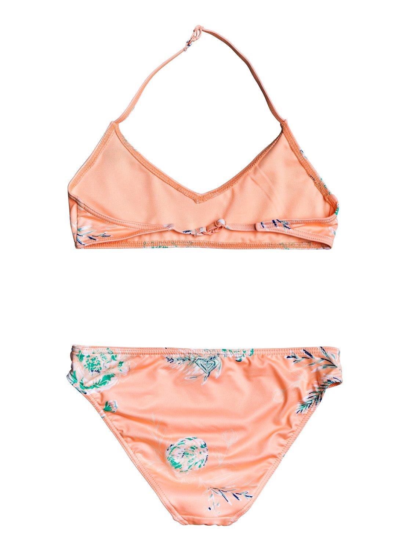 dba07464d9b1db 1 Darling Girl - Bralette Bikini Set for Girls 8-16 Pink ERGX203189 Roxy