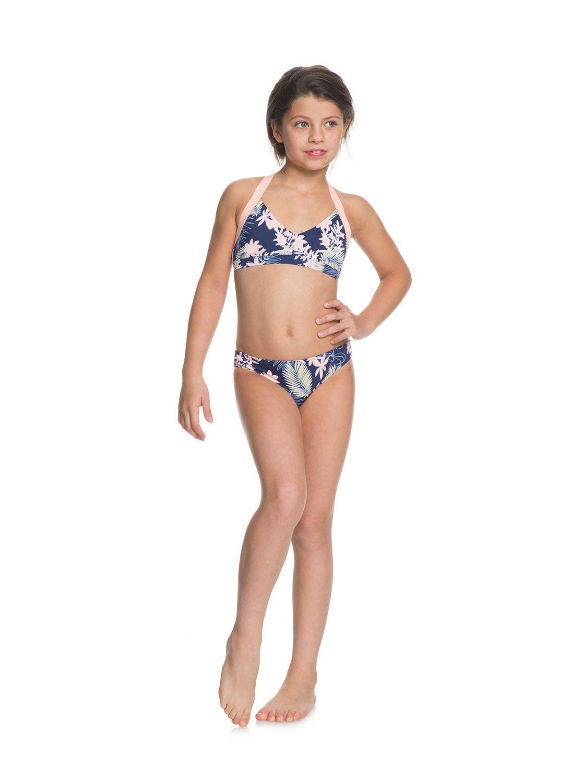 94c5fcd4c93 2 Bikini Point - Conjunto de Bikini Triangular Deportivo para Chicas 8-16  Azul ERGX203203