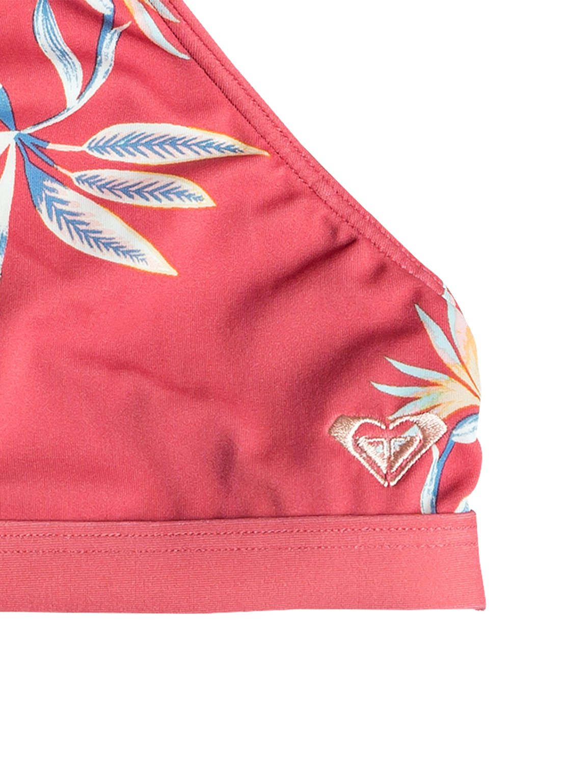 60fb3e9383 1 Girl's 7-14 Folky Way Crop Top Bikini Set Red ERGX203233 Roxy