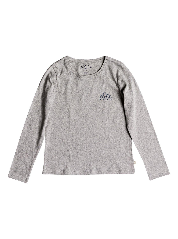 8e8c858b5 0 Gradual Awakening - Camiseta de manga larga para Chicas 8-16 Gris  ERGZT03327 Roxy