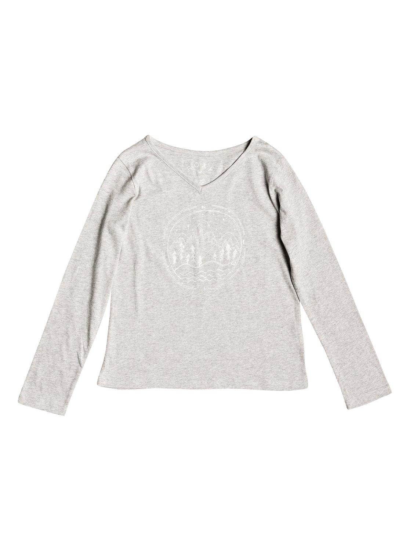 fc36e0a77a2d9 0 Say Something - T-shirt manches longues pour Fille 8-16 ans Gris