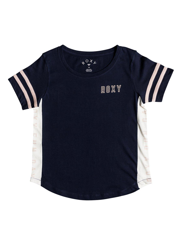 facad8ccb7a8b 0 Lucky You - Camiseta para Chicas 8-16 Azul ERGZT03336 Roxy