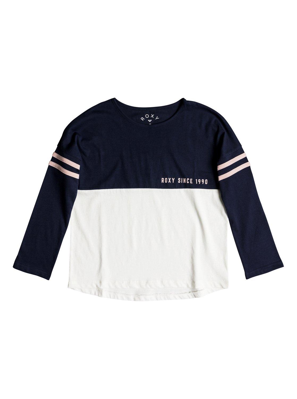df352255c468c 0 Sun One - Camiseta de manga larga para Chicas 8-16 Azul ERGZT03337 Roxy