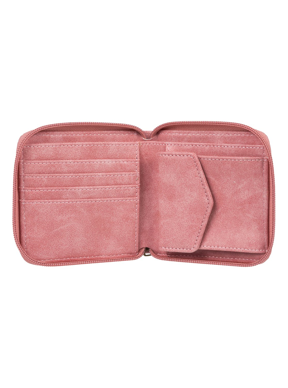 e991f3c28fe 1 Carry A Heart - Monedero con Cremallera Envolvente Rosa ERJAA03555 Roxy