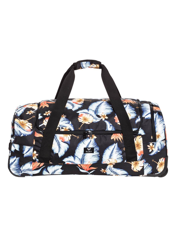 8a511fd24d0e 0 Спортивная сумка на колесах Distance Across 60L Черный ERJBL03143 Roxy
