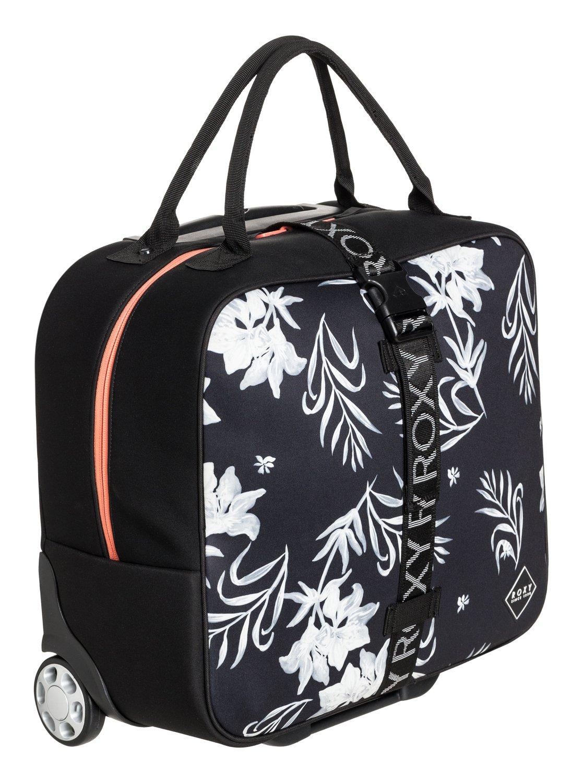 7903a2363adbc1 2 Geometric Storage - Wheeled Laptop Cabin Bag Black ERJBL03161 Roxy