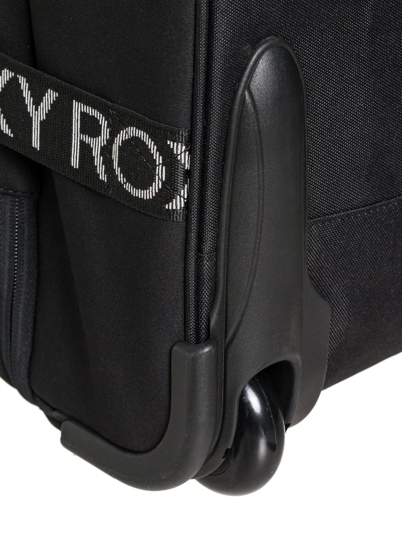 89b789c75fbf03 3 Wheelie Neoprene - Wheeled Cabin Bag Black ERJBL03163 Roxy