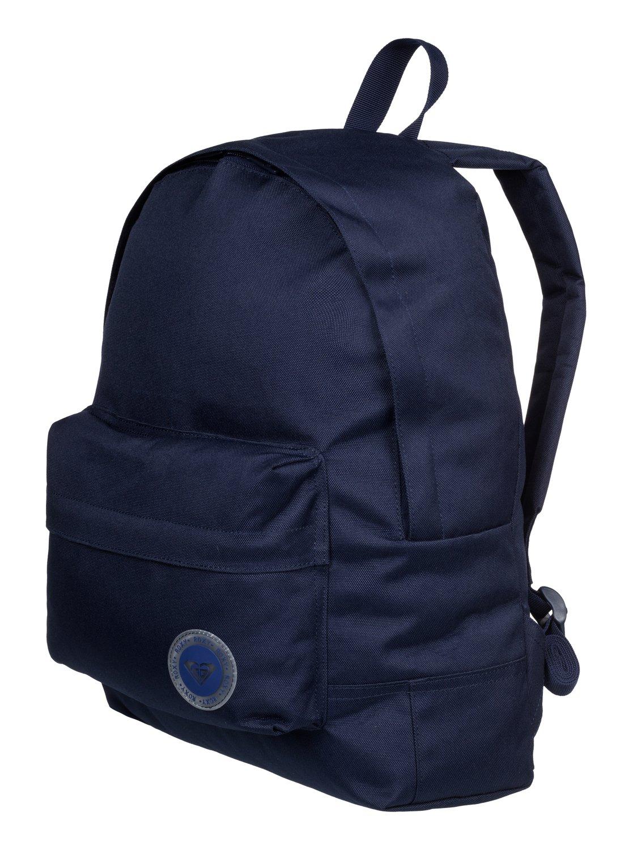 0610e1c5f13 1 Sugar Baby Solid - Medium Backpack Blue ERJBP03262 Roxy