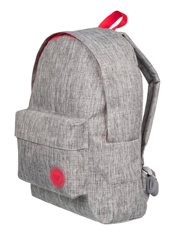 50af74b3db0 1 Sugar Baby Solid - Medium Backpack Grey ERJBP03262 Roxy