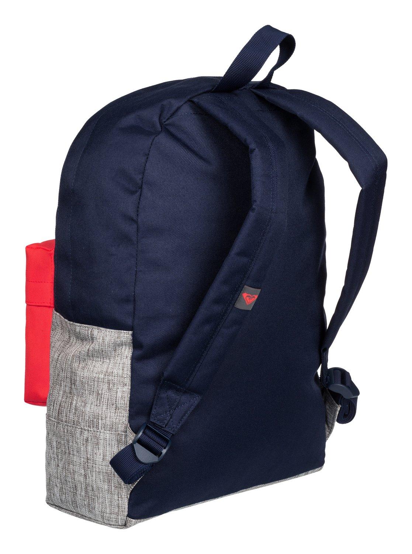 5a96c2e73f9 2 Sugar Baby Colorblock - Medium Backpack Blue ERJBP03263 Roxy