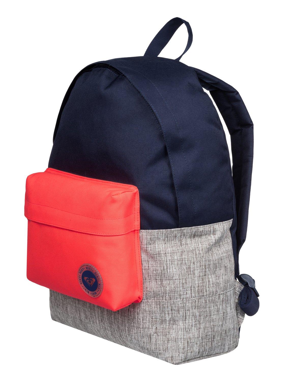 753c5968435 1 Sugar Baby Colorblock - Medium Backpack Blue ERJBP03263 Roxy
