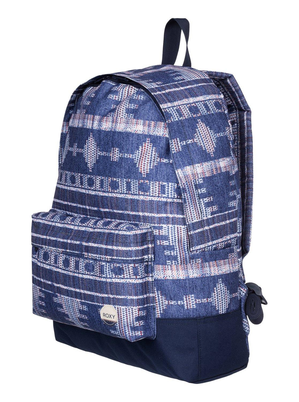 0d36d3715fb 1 Sugar Baby - Medium Backpack Blue ERJBP03264 Roxy