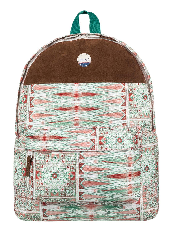 6acb55d0ba9 0 Sugar Baby Soul 16L - Medium Backpack White ERJBP03544 Roxy