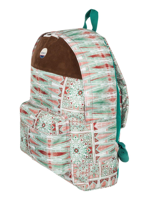 0b4acd70886 1 Sugar Baby Soul 16L - Medium Backpack White ERJBP03544 Roxy