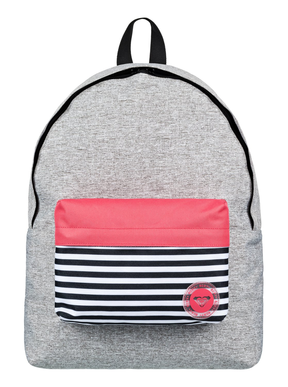 c348e4900 0 Sugar Baby Colorblock - Small Backpack Grey ERJBP03636 Roxy