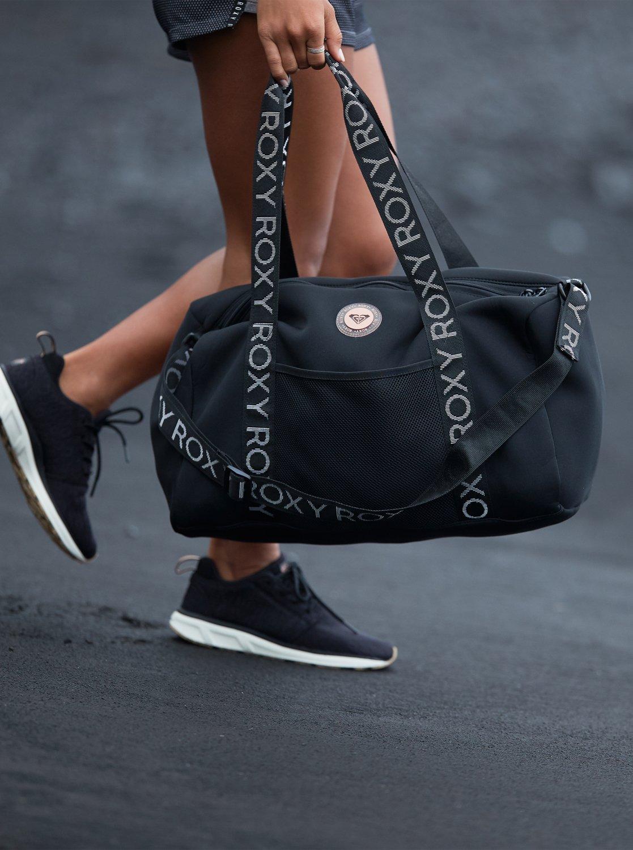 58f544fc9a4bc1 3 Moonfire 19L - Sports Duffle Bag Black ERJBP03857 Roxy