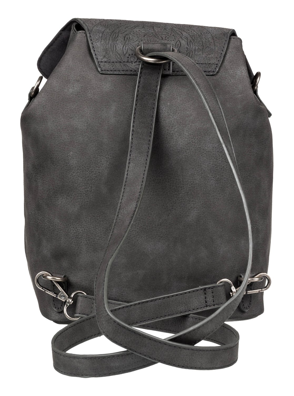 76f6b2d624 2 Like A River 6L - Petit sac à dos imitation cuir Noir ERJBP03875 Roxy