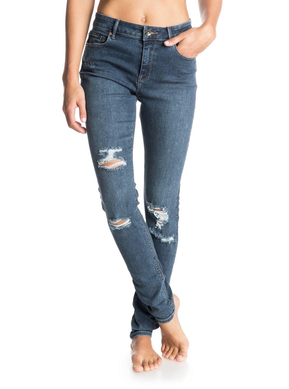 Joggingbroek Skinny Dames.Suntrippers Destroys Skinny Jeans 3613371291990 Roxy