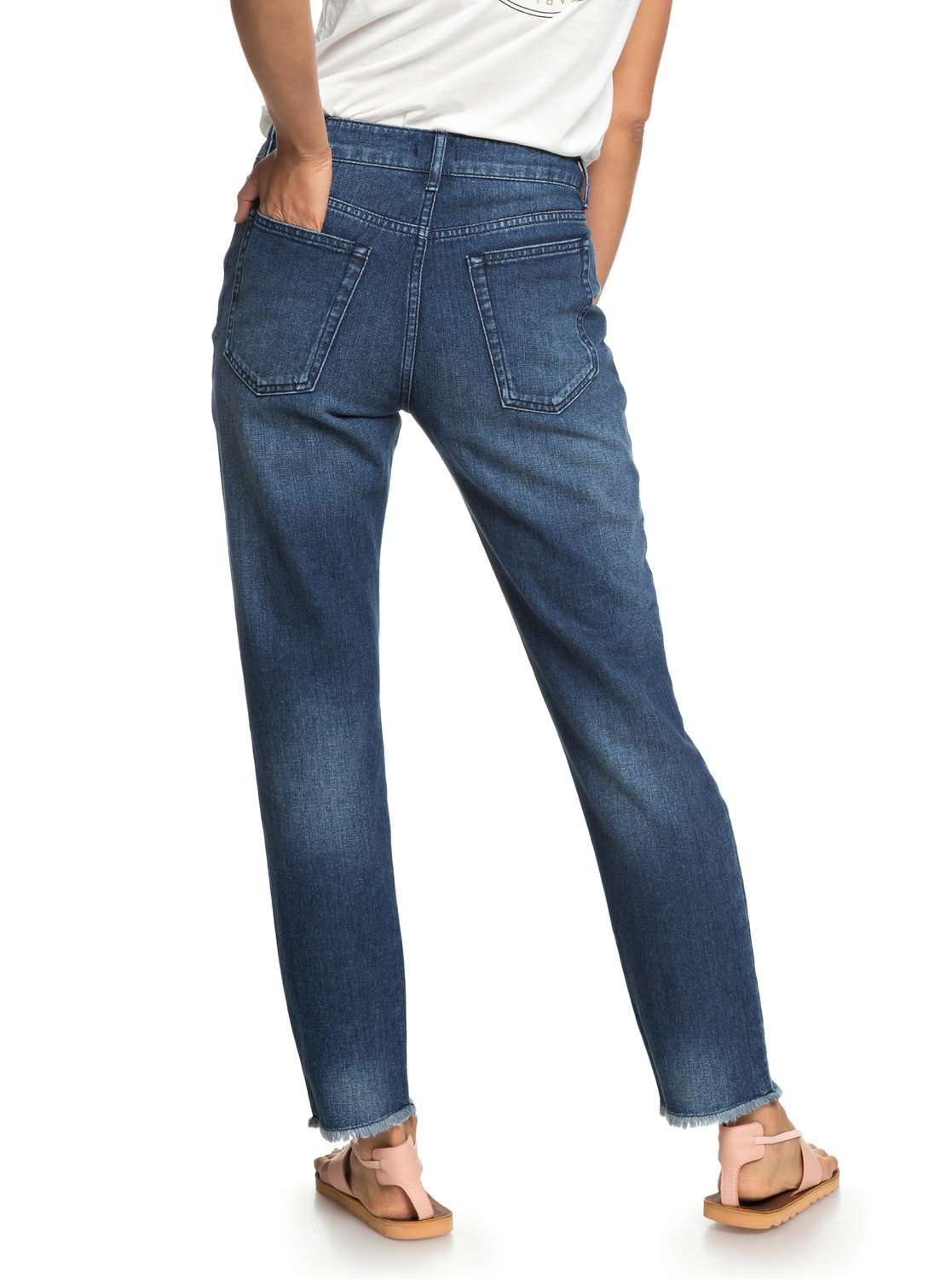 61a3397fc0f22 3 Citizen Cosmos - Straight Fit Jeans for Women Blue ERJDP03208 Roxy