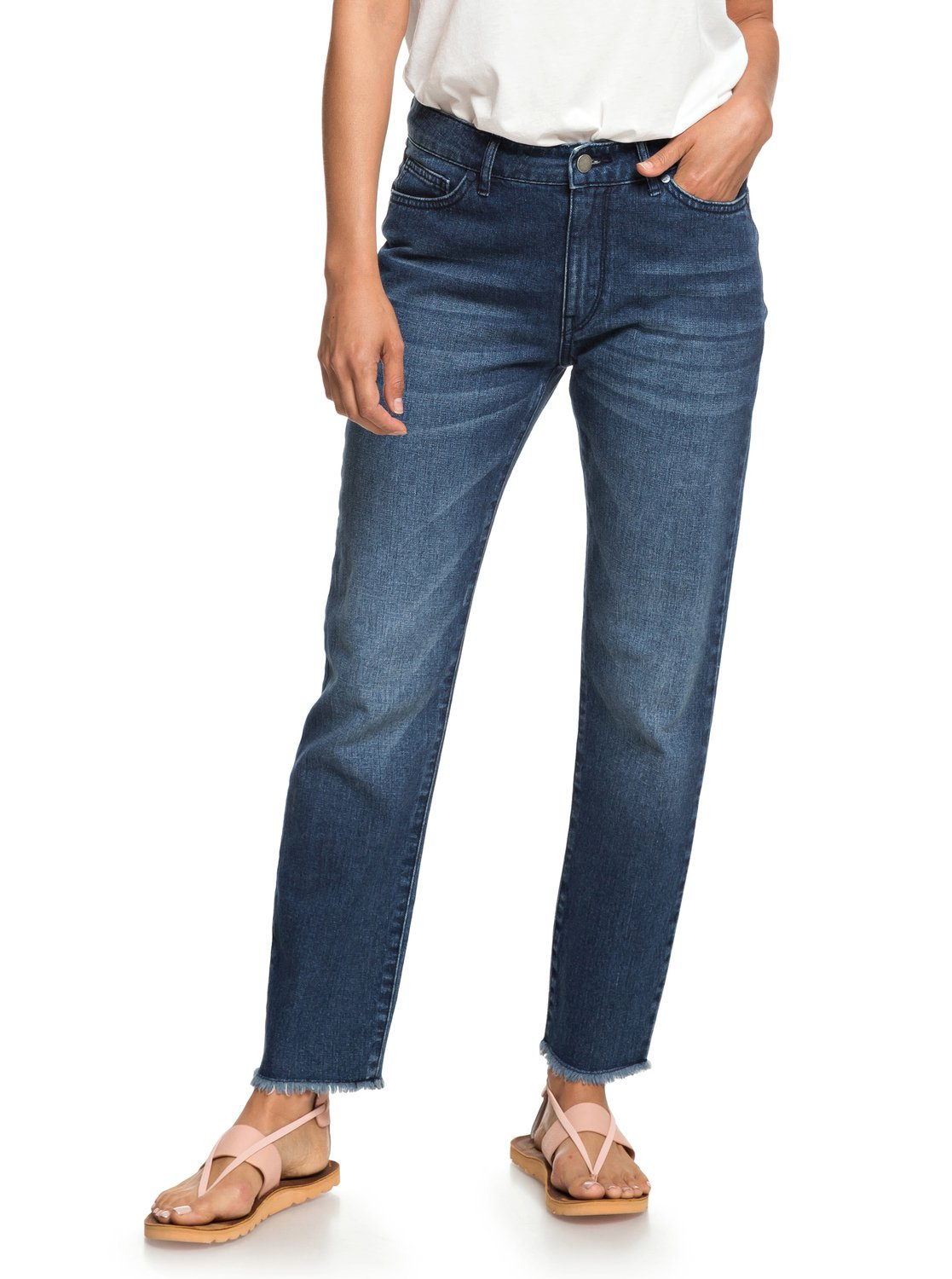 a79a1e0cae091 1 Citizen Cosmos - Straight Fit Jeans for Women Blue ERJDP03208 Roxy
