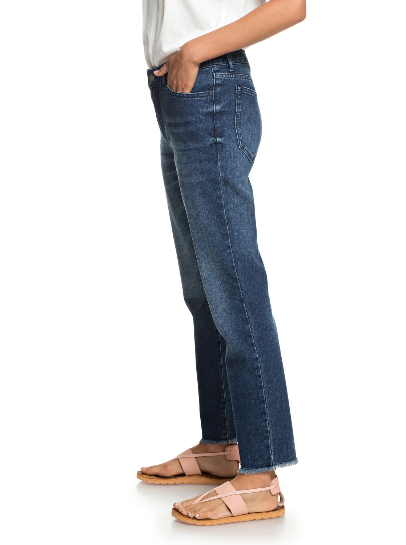 bbc95cc9b1806 2 Citizen Cosmos - Straight Fit Jeans for Women Blue ERJDP03208 Roxy
