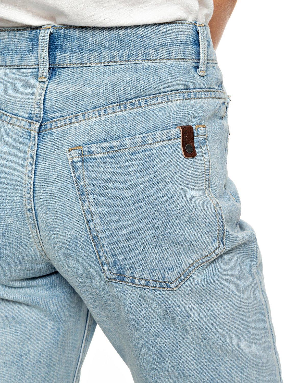 6d3e7af1ae19d 3 Leti - Mom Fit Jeans for Women Blue ERJDP03214 Roxy
