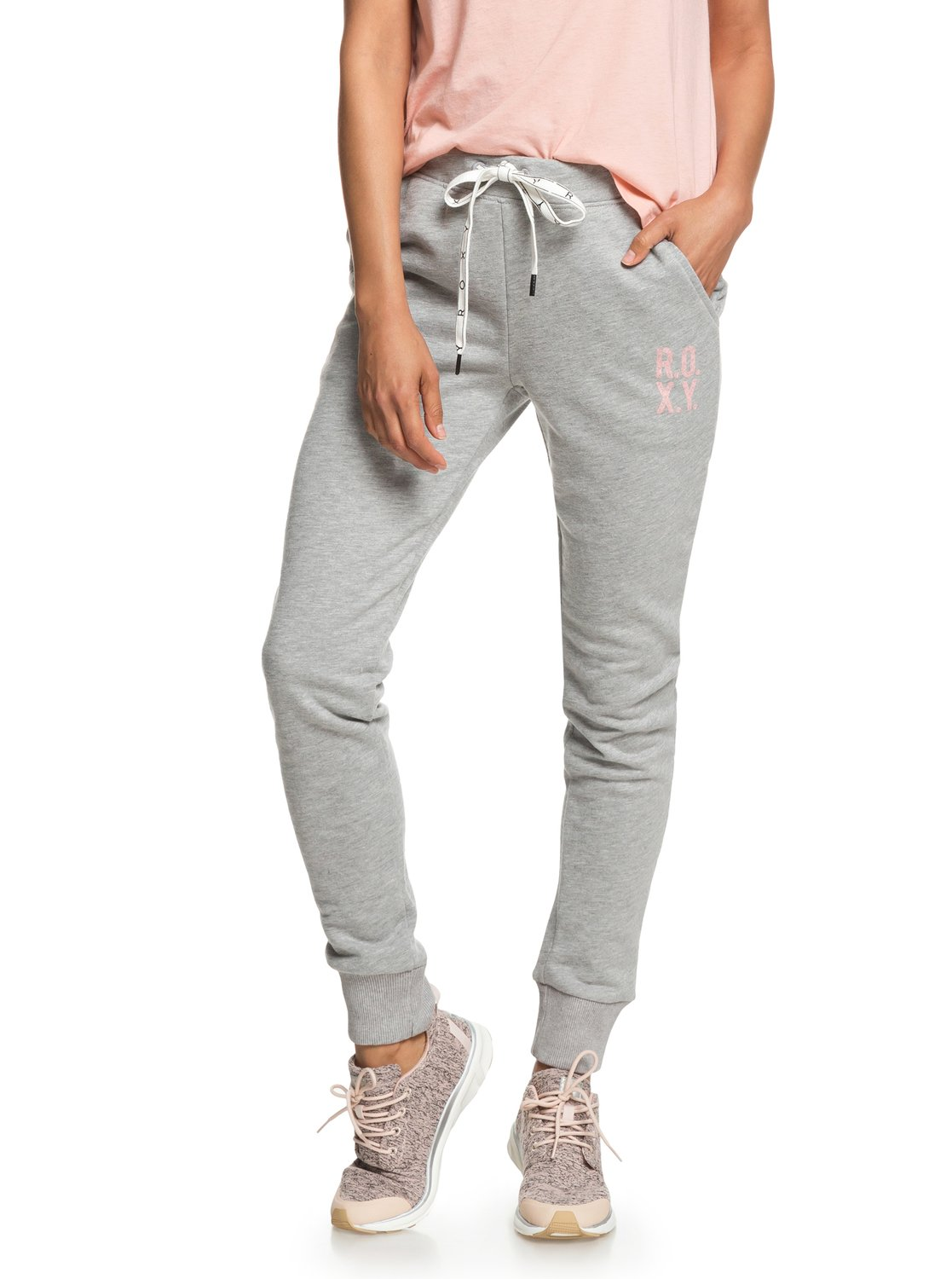 fe81733f32 1 Hello The World Bottom A - Pantalón de chándal para Mujer ERJFB03177 Roxy