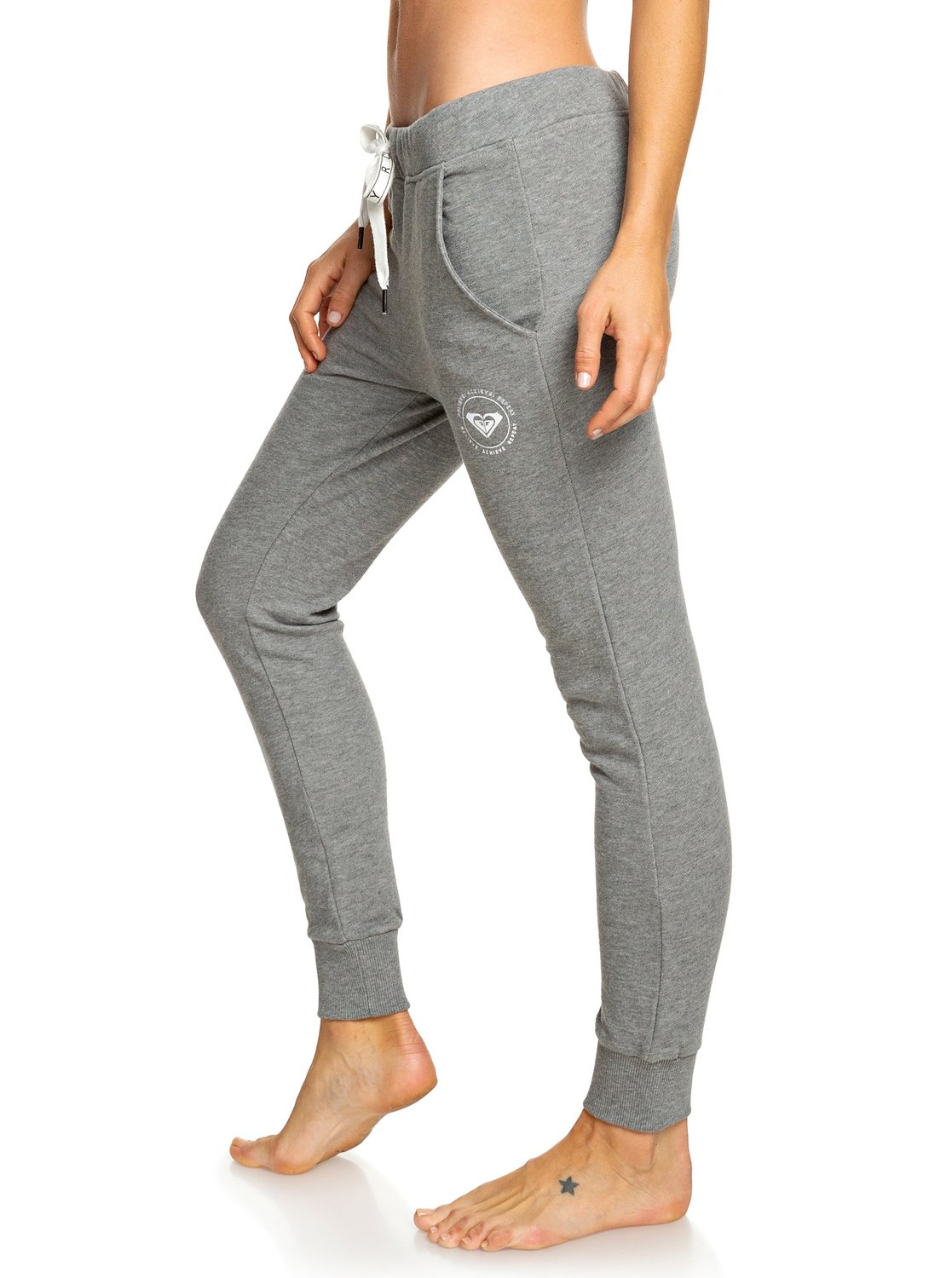 Strakke Joggingbroek Dames.Hello The World Bottom B Joggingbroek Voor Dames Erjfb03178 Roxy