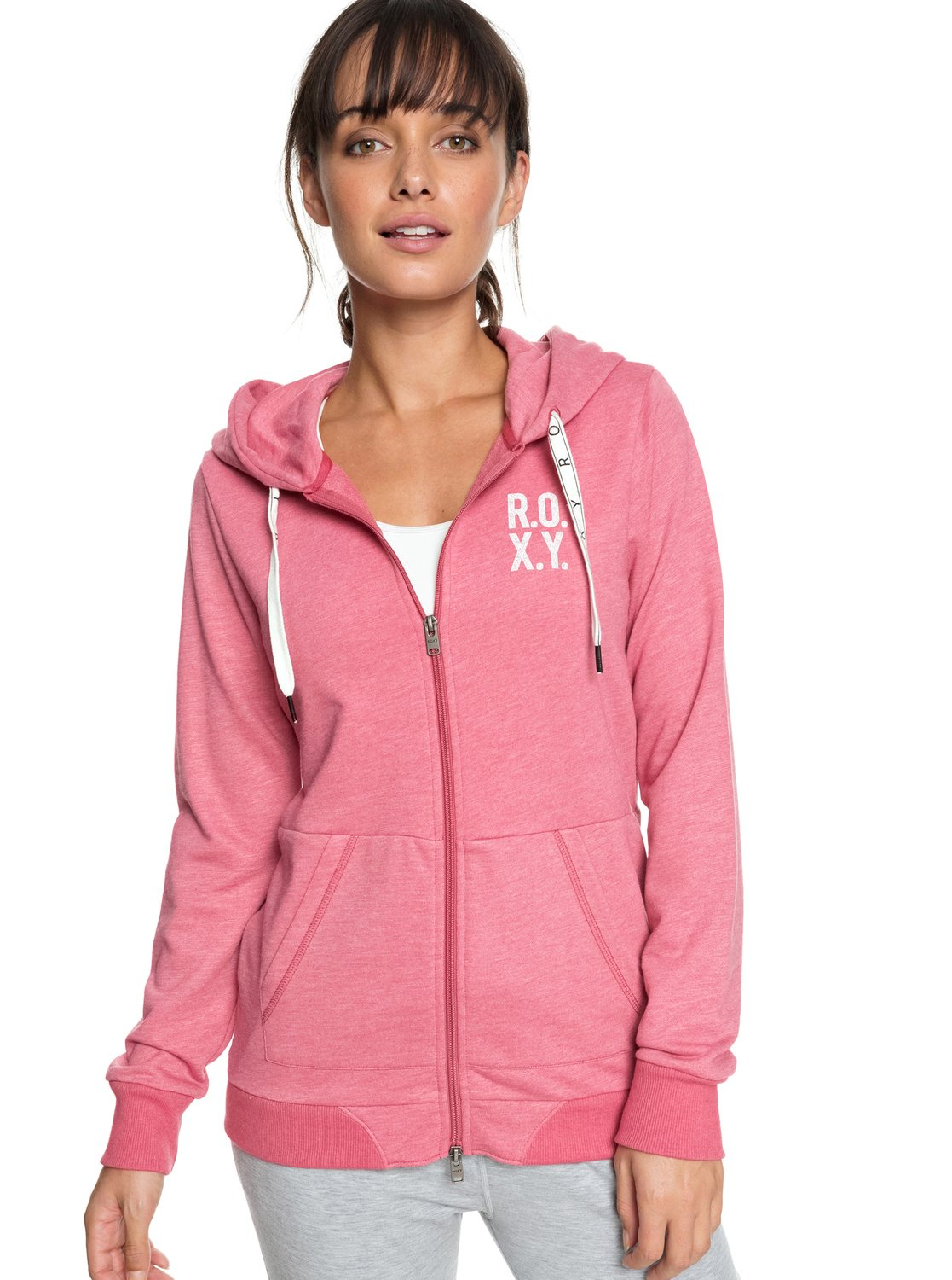 d32c0f13dcab5 0 Dress Like You Re A - Sudadera con capucha y cremallera para Mujer  ERJFT03785 Roxy