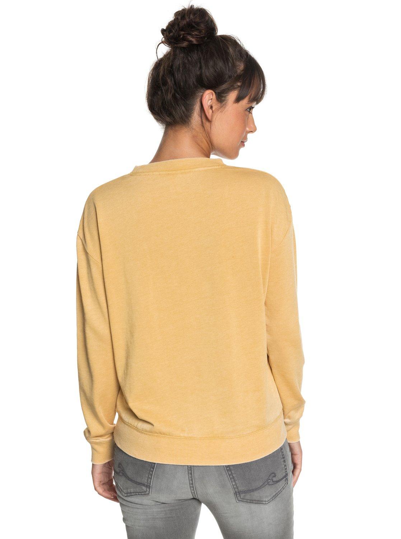 17ffedeb1830b 3 All At Sea A Sweatshirt Yellow ERJFT03848 Roxy