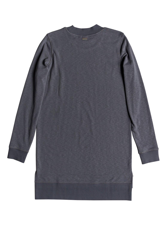 d4a7ce745d0 Roxy™ Suns Spinning - Long Sleeve Sweatshirt Dress - Women - L - Black
