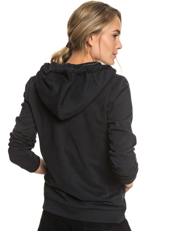 e00142a2a 3 Cosmic Nights - Zip-Up Hoodie for Women Black ERJFT03923 Roxy