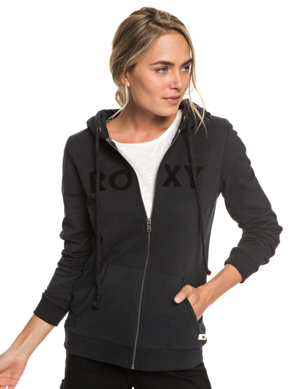 b87ce5312 0 Cosmic Nights - Zip-Up Hoodie for Women Black ERJFT03923 Roxy