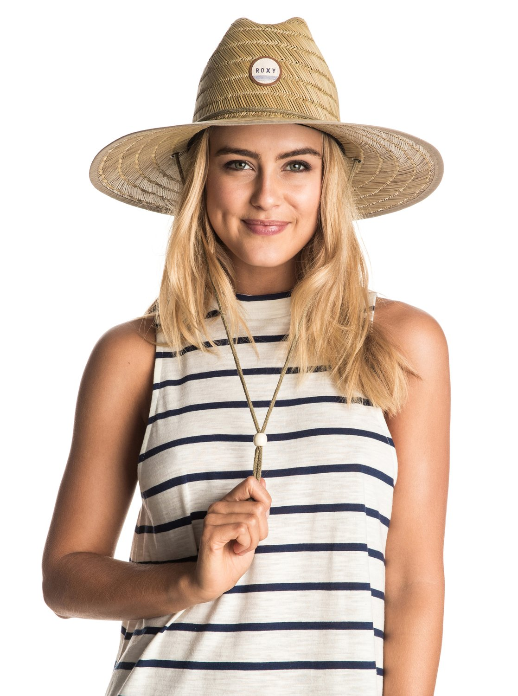 30c49d8c0c52e8 1 Tomboy Straw Hat ERJHA03043 Roxy